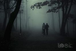 Туман в Покровском парке