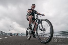 """Велопробег по низководному мосту """"Седанка – Де-Фриз"""""""